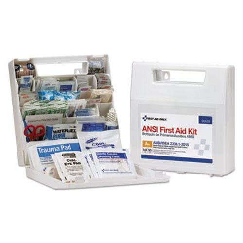 (First Aid Only 90639 ANSI Class A+ First Aid Kit for 50 People, 183 Pieces)