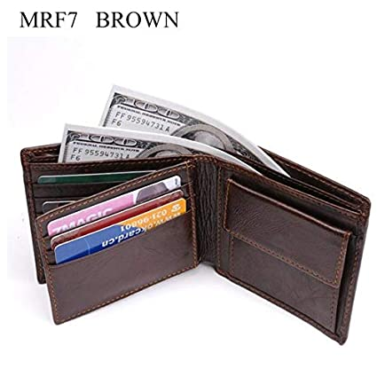 8682efb7fd2c Amazon.com: HeroStore Leather Wallet Men New Brand Purses for Men ...