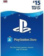PlayStation PSN Card 15 GBP Wallet Top Up | PSN Download Code - UK account