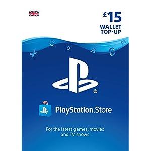 PlayStation PSN Card 15 GBP Wallet Top Up | PS5/PS4/PS3 | PSN Download Code – UK account