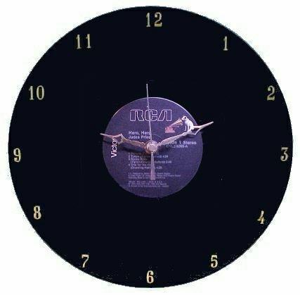 Judas Priest - Hero, Hero LP Rock Clock