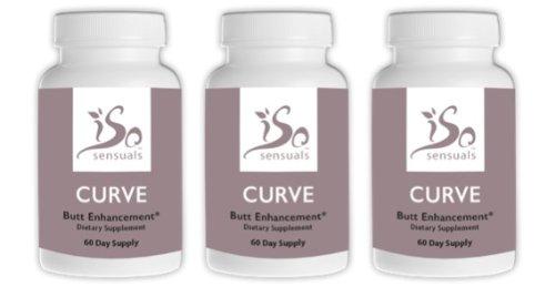 IsoSensuals CURVE | Butt Enhancement Pills (3 Bottles)