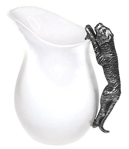 (Heim Concept Ceramic Water Pitcher with Tiger Handle)