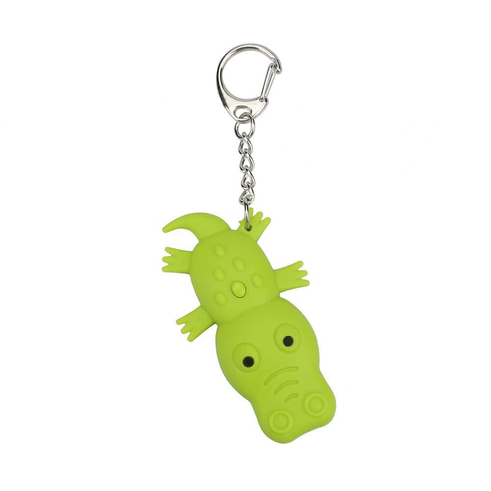 Amazon.com: Ktyssp - Llavero con diseño de cocodrilo con luz ...