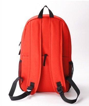 7 Weapons Fairy Tail Natsu Magic Guild Logo Unisex School Bag Backpack (Orange)