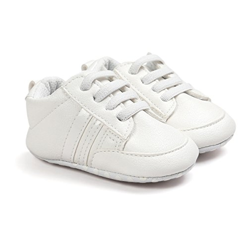 Bebé Niño 18 Zapatillas 12 De Mes Prewalker Por 3 Cuero 6 Pu 6 Niña 12 B Para Auxma Zapatos xnRF41n