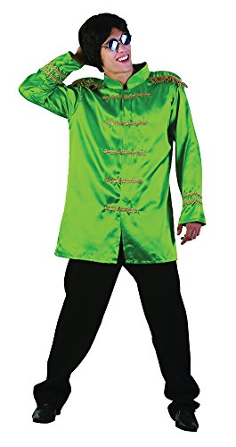 Bristol Novelty AC413 SGT Pepper Budget Jacket, Green, 42-44-Inch -