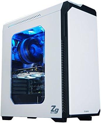 Zalman Z9 Neo Caja con Torre Mediana, con Ventana, Blanco: Amazon.es: Electrónica