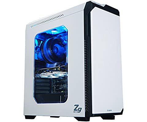 Zalman Z9 Neo Performance Gaming Mid Tower Case, White (Sdd External Case)