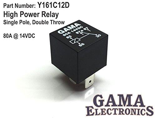 High Power 80 Amp Relay Single Pole, Double Throw SPDT