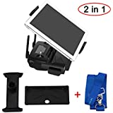 DJI Mavic Air Mavic Pro DJI Spark Accssories Helistar Aluminum-Alloy 4-12 Inches Tablet Mount Holder+Neck Lanyard, Foldable Bracket for Mavic Air Mavic Pro Mavic Platinum DJI Spark