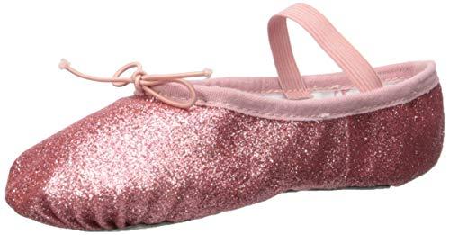 (Bloch Girls' Glitterdust Dance Shoe, Rose, 8 C US)