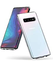 Syncwire Galaxy S10+ Plus Case, UltraFlex Thin Slim Soft TPU Samsung S10 Plus Phone Case [Anti-Yellow] [Drop Protection] Gel Clear Protective Case Cover for Samsung Galaxy S10 Plus - Transparent