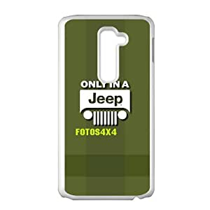 LG G2 Phone Case for Classic theme Jeep Logo pattern design GCTJPLG781301