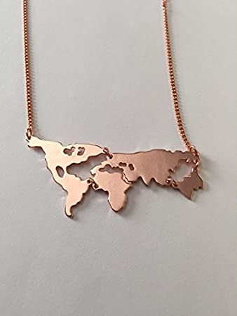Amazon world map necklace world necklace world jewelry world world map necklace world necklace world jewelry world map world earth gumiabroncs Image collections