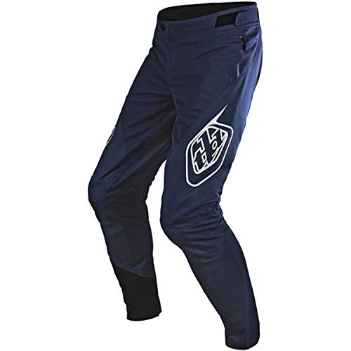 (Troy Lee Designs Sprint Solid Youth Off-Road BMX Cycling Pants - Navy / 18)