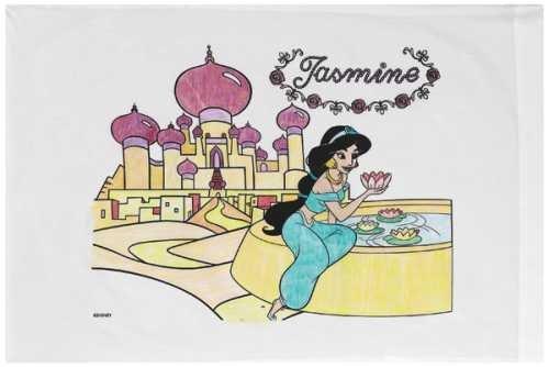 Janlynn Disney Princess Pillowcase Art Kit - Jasmine