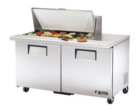 True Mega-Top S/S 15.5 Cu Ft 18-Pan Top Sandwich/Salad Unit