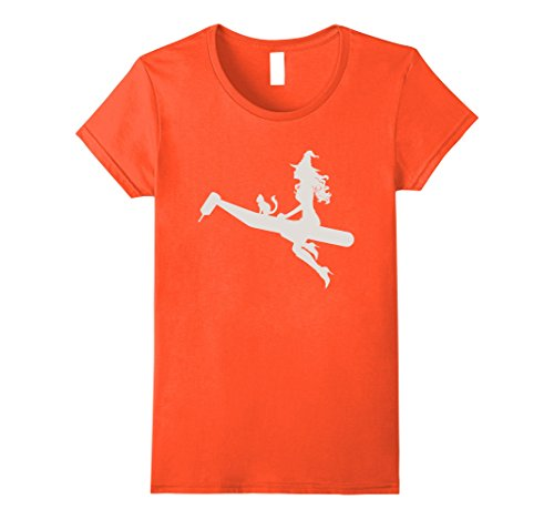 Witch Doctor Costume Girl - Womens Funny Dentist Witch Gifts Shirts Dentist Costume 2017 Small Orange