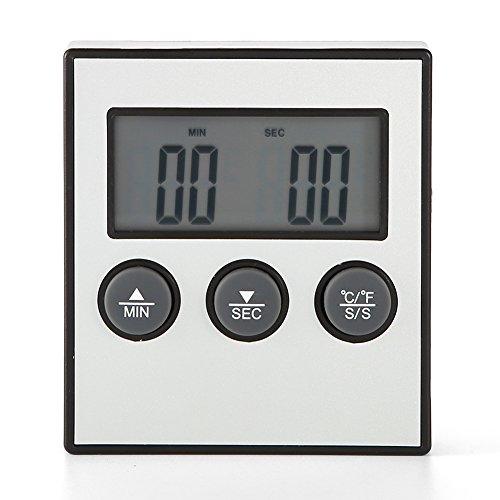 Termómetro Digital, Asixx, Termómetro Digital de Cocina, Termómetro Horno, Para Medir La Temperatura de Carne de Res,...