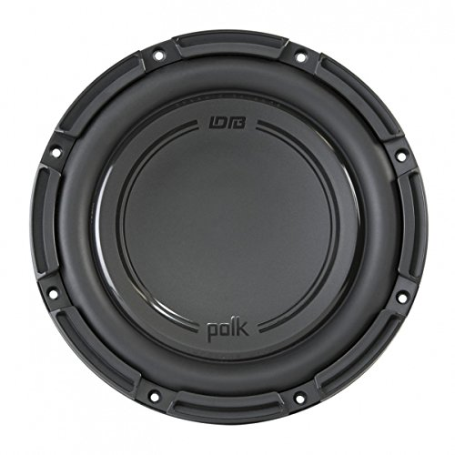350w Low Frequency Driver - Polk Audio DB+ 10 Inch 1050 Watt 4 Ohm DVC Marine & Car Subwoofer | DB1042DVC