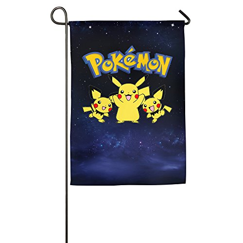 Pokemon 20th Anniversary Outdoor Garden Flags Halloween (Un Cuento De Halloween)