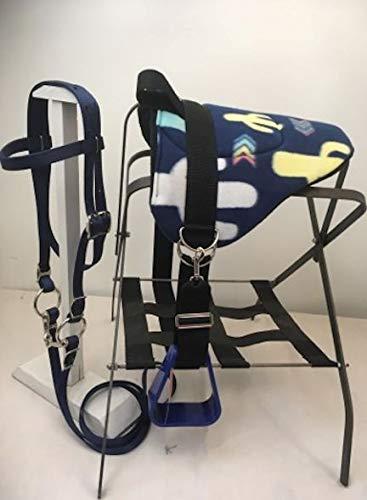 Party Ponies Miniature Horse/SM Pony Bareback Saddle PAD Set – Cactus