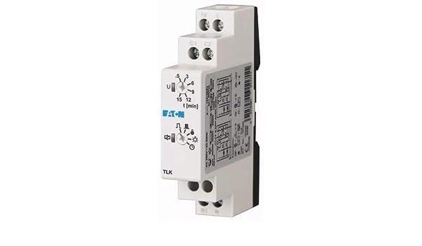 Moeller 101066 Relé de tiempo, Interruptor de tiempo de escalera, Relé de impulso, 6 Fct No.: Amazon.es: Industria, empresas y ciencia