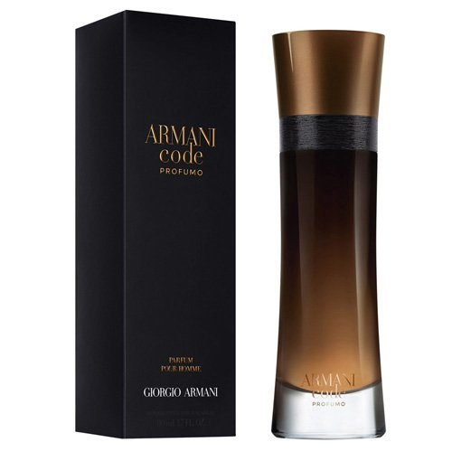Giorgio Armani Code Profumo EDP Spray for Men, 3.7 Ounce