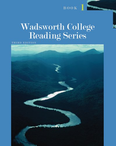 Wadsworth College Reading Series: Book 1