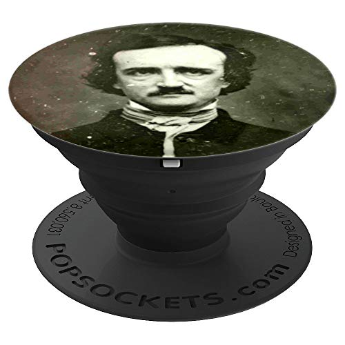 Portrait of Edgar Allan Poe - PopSockets Grip and Stand for Phones and Tablets