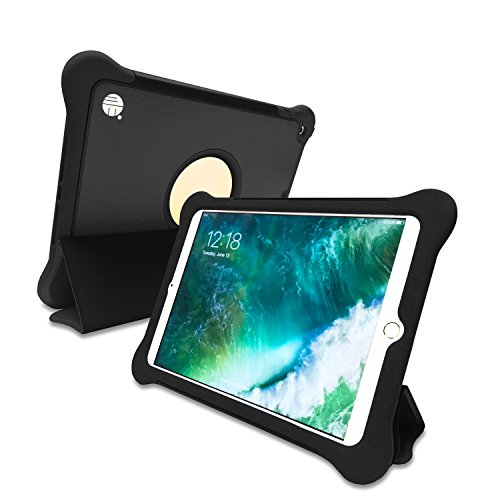 ME 3-in-1 Bumper-Case-Stand with Smart Tri-Fold Cover for New iPad 9.7-inch (2017 Release)
