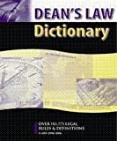 Deans Law Dictionary: more info