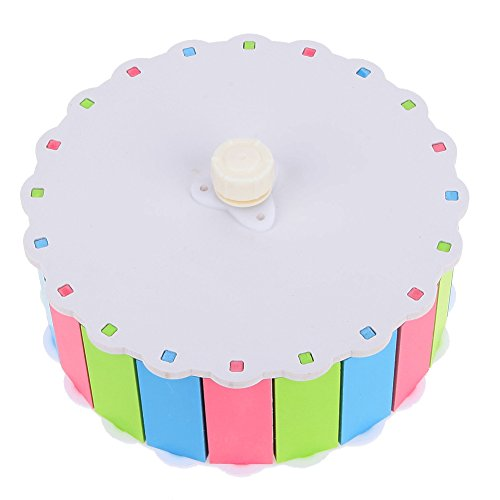 MMdex Colorful Pet  Exercise Running Wheel Toy with 7.5'' Diam for Hamster Mouse Rat Mice by MMdex (Image #6)