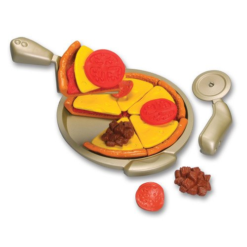 Lanard Cook N' Kitchen 28 Piece Perfect Pan Pizza Set - home – breakfast - crust – sauce – cheese – tomato - sausage and pepperoni toppings - Kitchen collection - Designable and stylish.