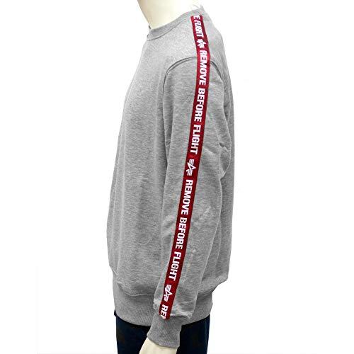 Heather Taped Grey Sweat Industries Neck Alpha Rbf Shirt Crew S8qn6xS0XU