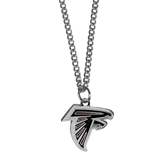 NFL Atlanta Falcons Chain Necklace with Small Pendant, 20