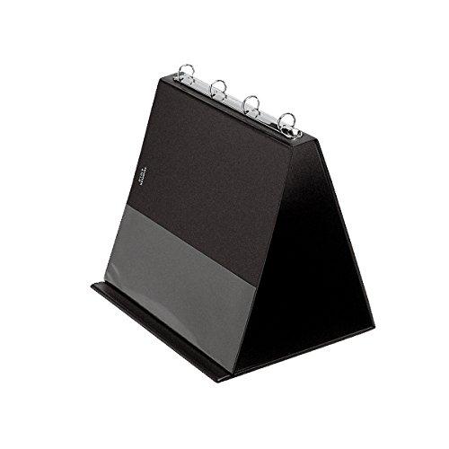 Veloflex 4101080 Table Flipchart A4 Landscape PVC Black ()