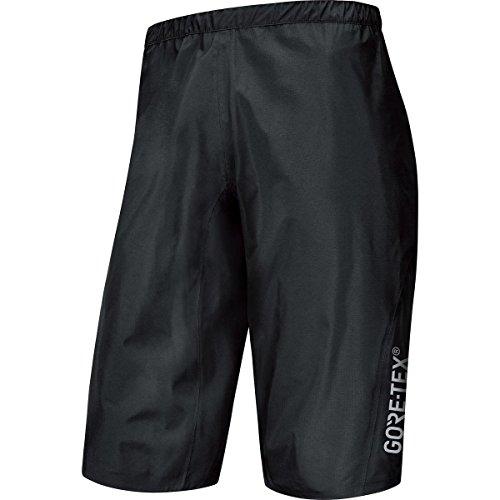 Gore Bike WEAR, Men´s, Knee Length Mountain Bike Shorts, Waterproof, Gore-TEX Active, Power Trail GT AS, Size S, Black, TGSPOW