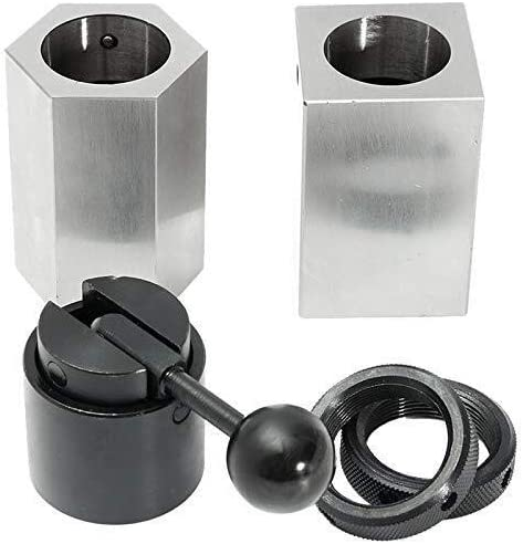 LKAIBIN 5C Collet Block Chuck Set Square Hex Collet Closer Holder Lathe Tools Kit