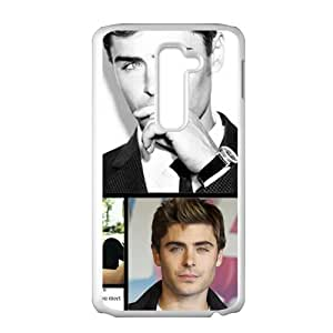 Custom Zac Efron Case Hard Cover Protective Back Fits for LG G2