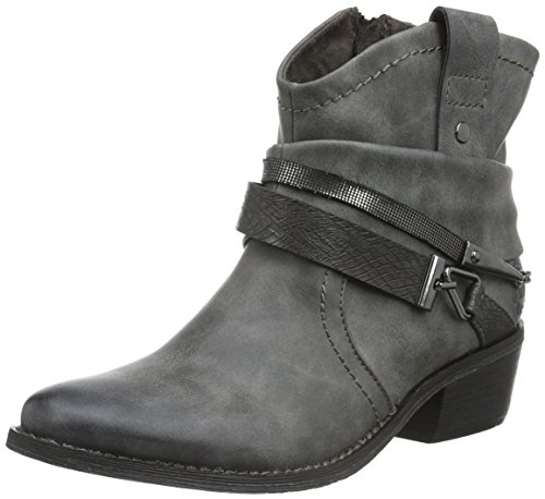 Marco Tozzi 25043, Botines para Mujer Gris (GREY ANTIC COM 202)