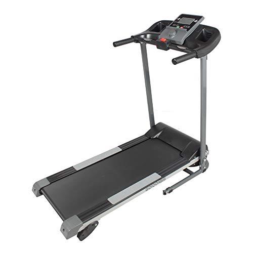 GOJOOASIS Folding Treadmill 1100W Motorized Running Exercise Machine w Incline