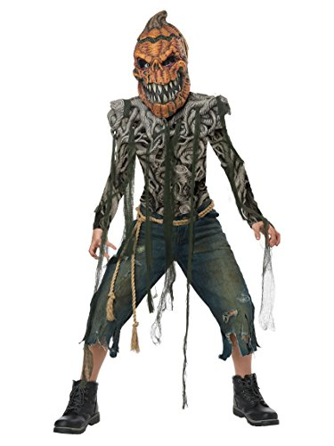 Scary Halloween Pumkins (Pumpkin Creature Boys Costume)