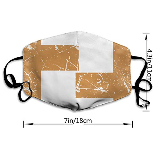 GLleaf Fendi_Vintage_Shirt_Inspired_ Face Masks, Medical Masks,Breathable Dust Filter Masks Mask Mouth Cover Masks with Elastic Ear Loop White