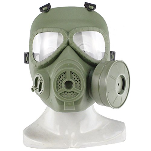 PeleusTech® WST Head Mask Full Face Single Canister Electric Ventilative Biochemical Gas Mask[No Actual Anti-Virus Function] Toys Masks for Children, Cosplay,Halloween and Party -