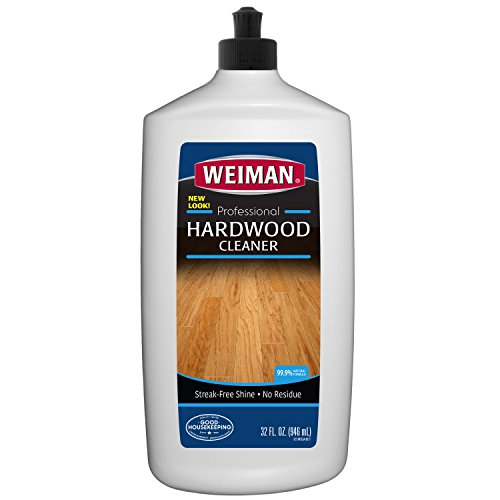 Ash Natural Flooring (Hardwood Floor Cleaner By Weiman - Professional Quality, Streak-Free Finish - 32 Fl. Oz.)