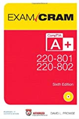 CompTIA A+ 220-801 and 220-802 Exam Cram (6th Edition) Paperback