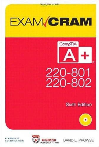 Comptia A+ 220-801 And 220-802 Pdf