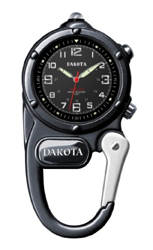 Dakota Gunmetal Mini Clip Microlight Watch (Clip Dakota Watch Mini)